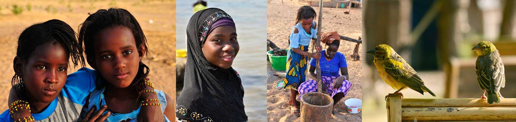 Montage photos du Sénégal