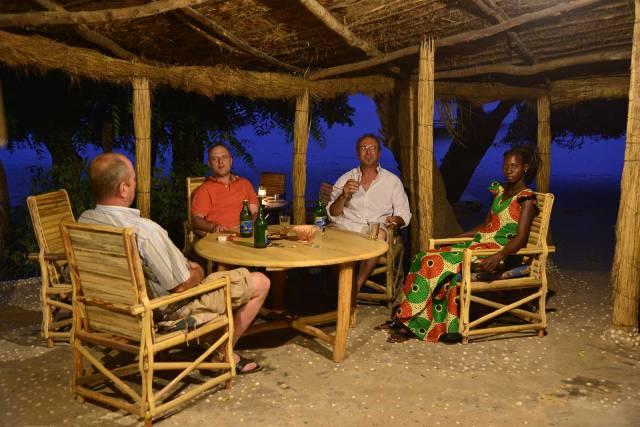 Photo 5 du Le restaurant, le bar de l'Ecolodge de Simal