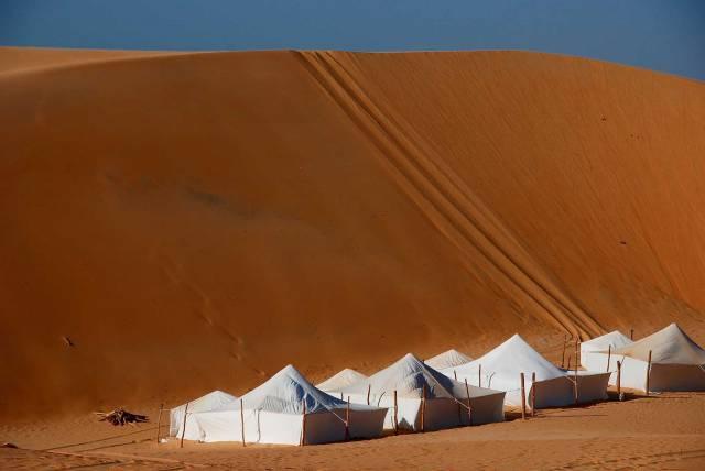 Photo 19 du Ecolodge de Lompoul au Sénégal. Vacances dans un lodge en plein désert au nord du Sénégal.