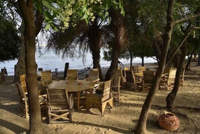 Photo 2 du Le restaurant, le bar de l'Ecolodge de Simal