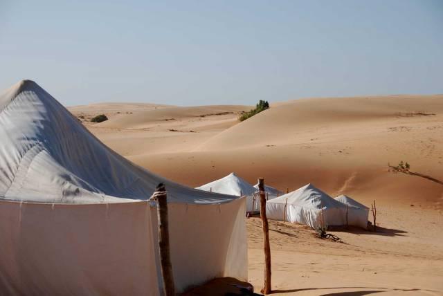 Photo 12 du Ecolodge de Lompoul au Sénégal. Vacances dans un lodge en plein désert au nord du Sénégal.