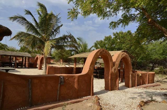 Photo 2 du Le restaurant et bar de l'Ecoldodge de Palmarin