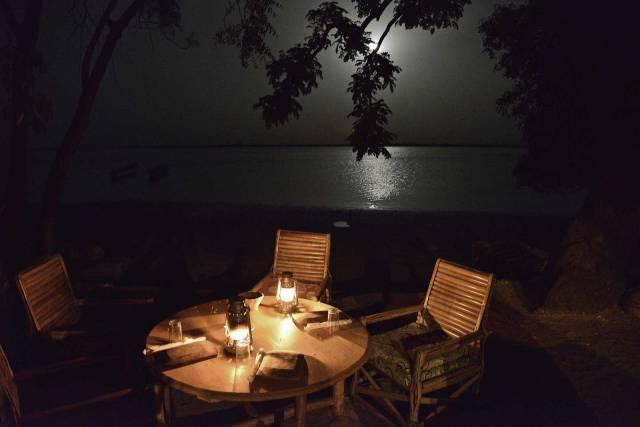 Photo 7 du Le restaurant, le bar de l'Ecolodge de Simal