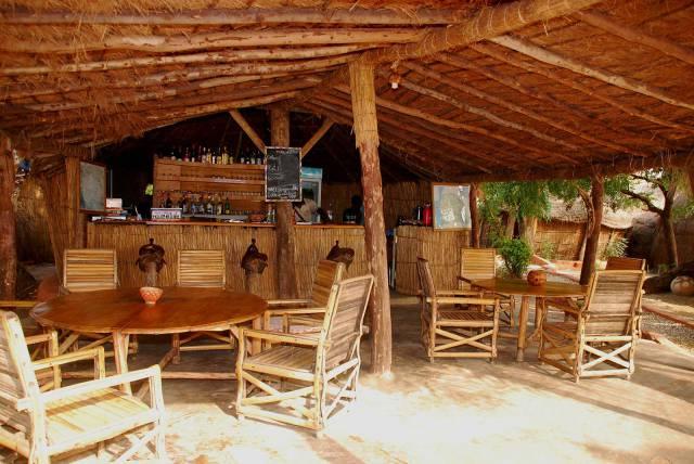 Photo 8 du Le restaurant, le bar de l'Ecolodge de Simal