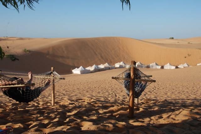 Photo 5 du Ecolodge de Lompoul au Sénégal. Vacances dans un lodge en plein désert au nord du Sénégal.