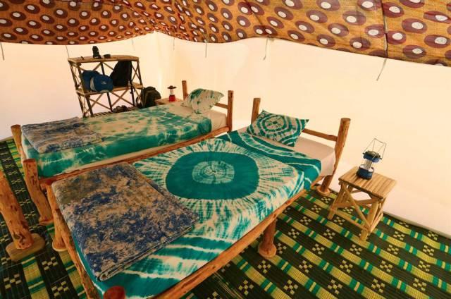 Photo 9 du Ecolodge de Lompoul au Sénégal. Vacances dans un lodge en plein désert au nord du Sénégal.