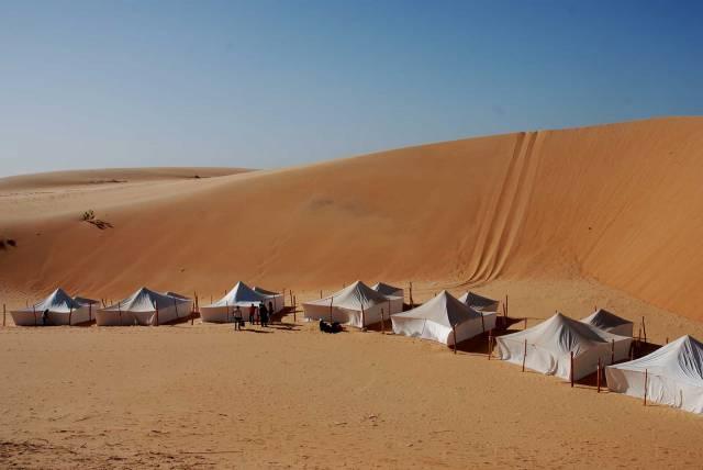 Photo 10 du Ecolodge de Lompoul au Sénégal. Vacances dans un lodge en plein désert au nord du Sénégal.