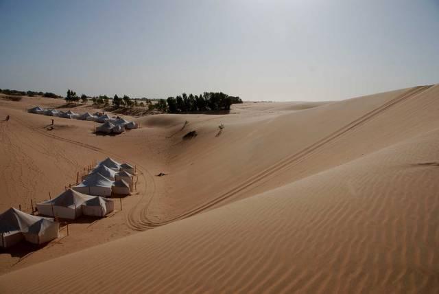 Photo 16 du Ecolodge de Lompoul au Sénégal. Vacances dans un lodge en plein désert au nord du Sénégal.