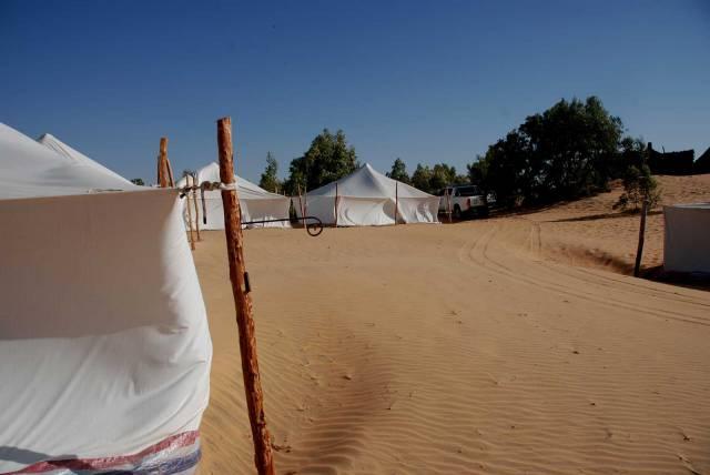 Photo 11 du Ecolodge de Lompoul au Sénégal. Vacances dans un lodge en plein désert au nord du Sénégal.