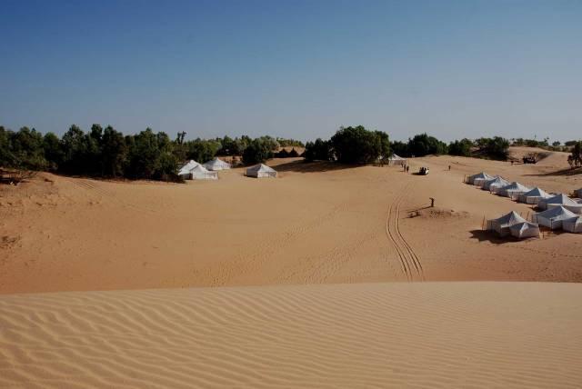 Photo 13 du Ecolodge de Lompoul au Sénégal. Vacances dans un lodge en plein désert au nord du Sénégal.