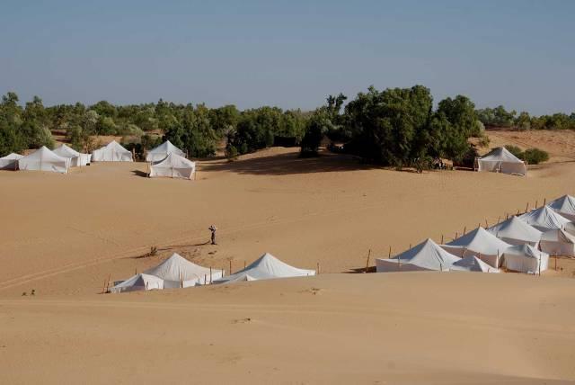 Photo 17 du Ecolodge de Lompoul au Sénégal. Vacances dans un lodge en plein désert au nord du Sénégal.