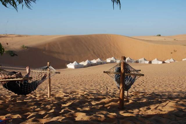 Photo 6 du Ecolodge de Lompoul au Sénégal. Vacances dans un lodge en plein désert au nord du Sénégal.