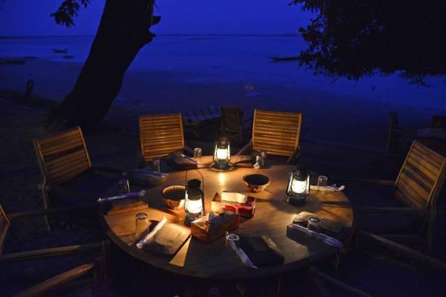 Photo 6 du Le restaurant, le bar de l'Ecolodge de Simal