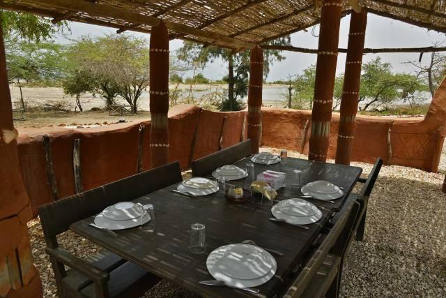 Photo 1 du Le restaurant et bar de l'Ecoldodge de Palmarin