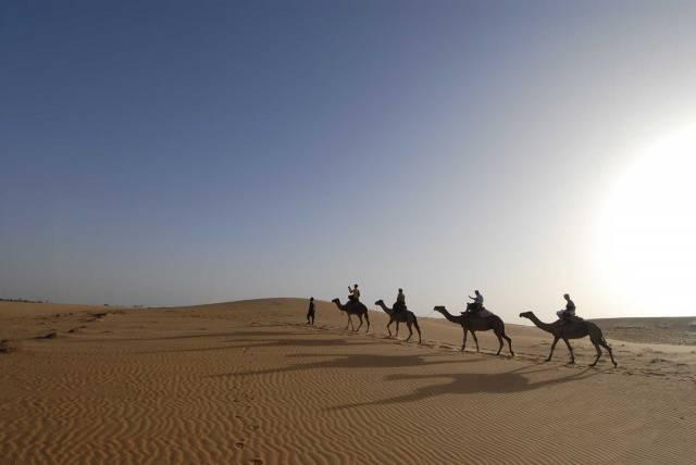 Photo 7 du Ecolodge de Lompoul au Sénégal. Vacances dans un lodge en plein désert au nord du Sénégal.