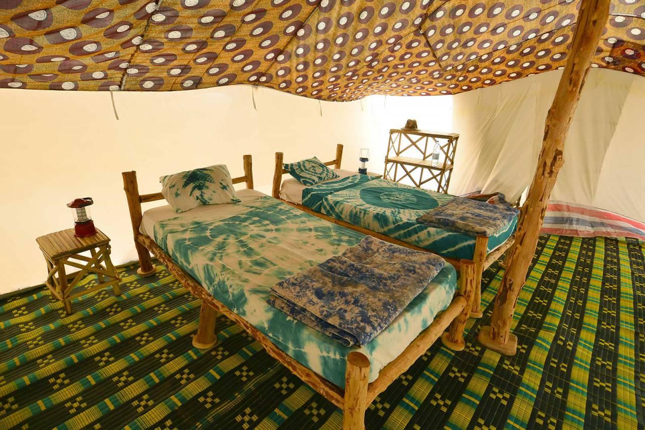 Image Les chambres de l'Ecolodge de Lompoul