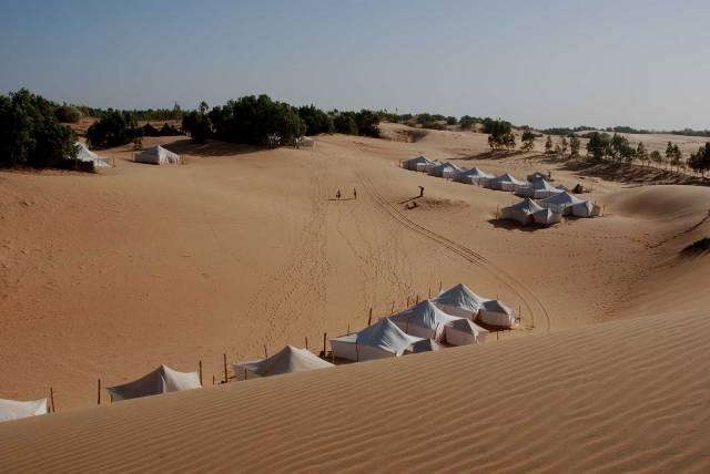 Photo 15 du Ecolodge de Lompoul au Sénégal. Vacances dans un lodge en plein désert au nord du Sénégal.