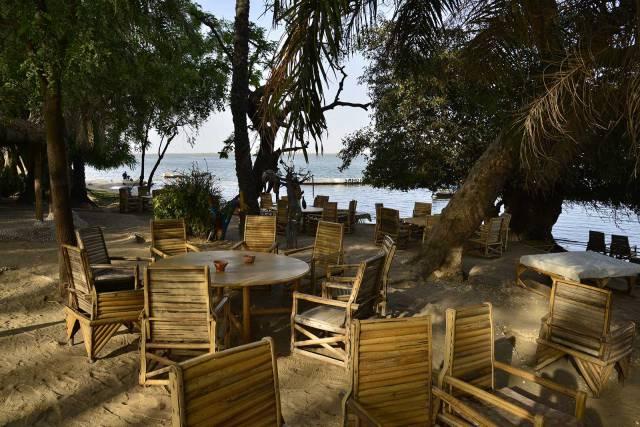 Photo 3 du Le restaurant, le bar de l'Ecolodge de Simal